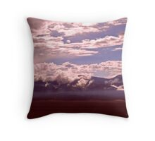 The gleam Throw Pillow