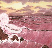 Sunset Seas by Dawn B Davies-McIninch