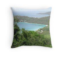 Carribean Sea Throw Pillow