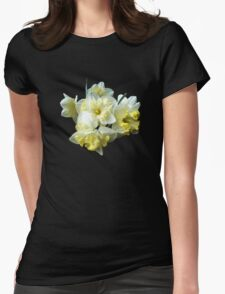 Yellow Ruffled Daffodils Classic Elegant Black T-Shirt