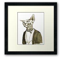 Mr. Sphinx Framed Print