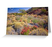 Outback Garden Greeting Card
