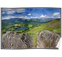 Views from Loughrigg Fell Poster