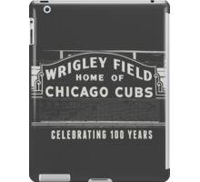 Wrigley Field Sign  iPad Case/Skin