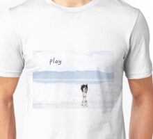 border collie play Unisex T-Shirt