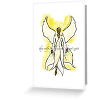 They Only Tell Lies and Do Not Exist Greeting Card
