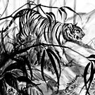 Prowling Tiger by Heather Rinehart