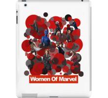 Women of Marvel unite iPad Case/Skin