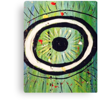 Evil Eye Canvas Print