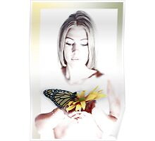 Loving Butterfly Poster