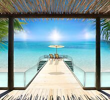 Postcard from the Maldives - Very rare Sunrise by Atanas NASKO