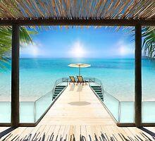 Postcard from the Maldives - Very rare Sunrise by Atanas Bozhikov Nasko