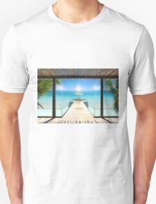 Postcard from the Maldives - Very rare Sunrise Unisex T-Shirt
