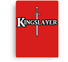 Kingslayer Canvas Print