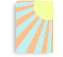 Sun Burst Canvas Print