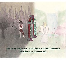 Good and Evil Photographic Print