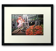 Flight to freedom Framed Print