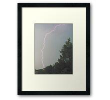 Lightning! Framed Print