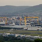 View of Belfast by Mark  Allen