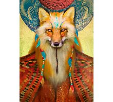 Wise Fox Photographic Print