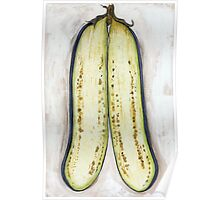 Baby Eggplant Poster