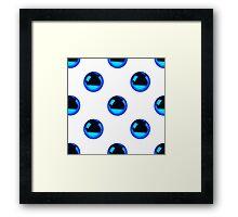 Gazing Ball Framed Print
