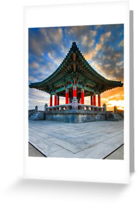 Korean Bell of Friendship by derekenz