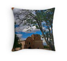 Tumacacori Mission Throw Pillow