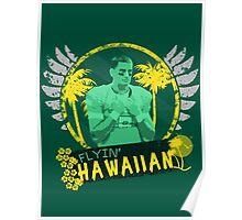 Marcus Mariota - Flyin' Hawaiian Poster