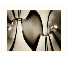Archway Tube Station Art Print