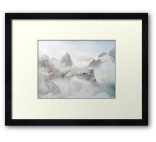 Palace of the Sky Dragons Framed Print
