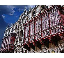 Archbishop's palace, Lima, Peru Photographic Print