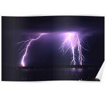 Lightning Puget Sound Poster