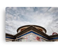 Arnos Grove Tube Station Canvas Print