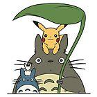 Totoro, Pikachu and Co. by elenwae