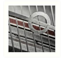 Arsenal Tube Station Art Print