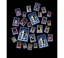 Persona Cards Scatter! Photographic Print