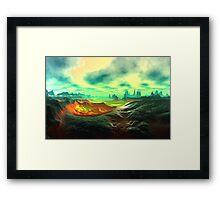 Dream Landscape Framed Print