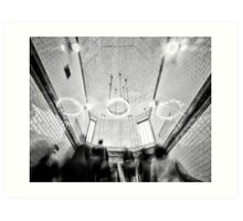 Balham Tube Station Art Print