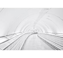 Bank Tube Station Photographic Print