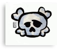 Skull Love Canvas Print