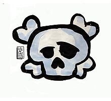Skull Love Photographic Print