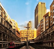 Barbican Tube Station by AntSmith