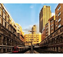 Barbican Tube Station Photographic Print