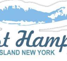 East Hampton - Long Island.  Sticker
