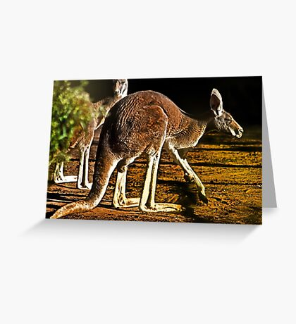 Red Boomer Greeting Card