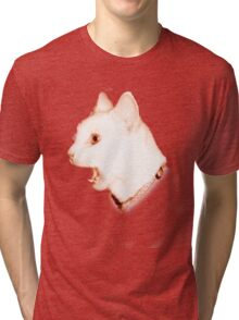 Crazy Cat Tri-blend T-Shirt