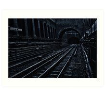 Bayswater Tube Station Art Print