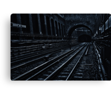 Bayswater Tube Station Canvas Print
