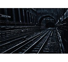 Bayswater Tube Station Photographic Print